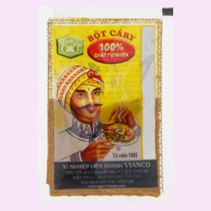Bột cà ri Vianco gói 10g