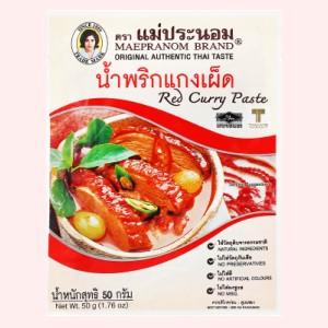 Gia vị cà ri đỏ MaePranom gói 50g