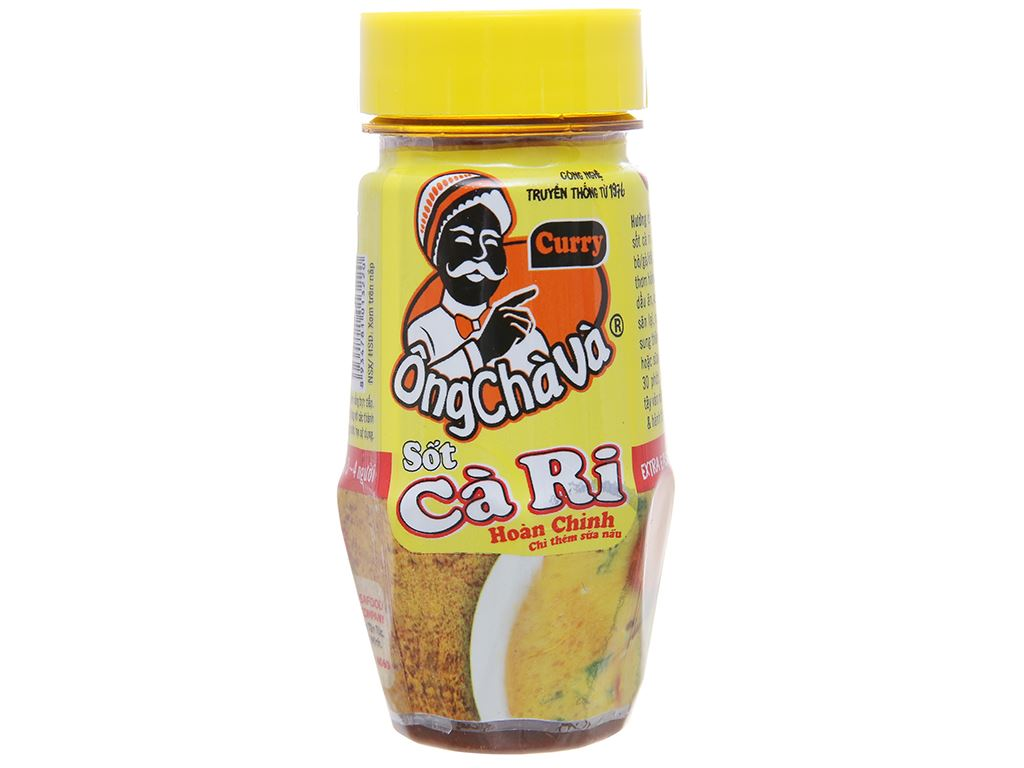 Sốt cà ri Ông Chà Và chai 100g 1