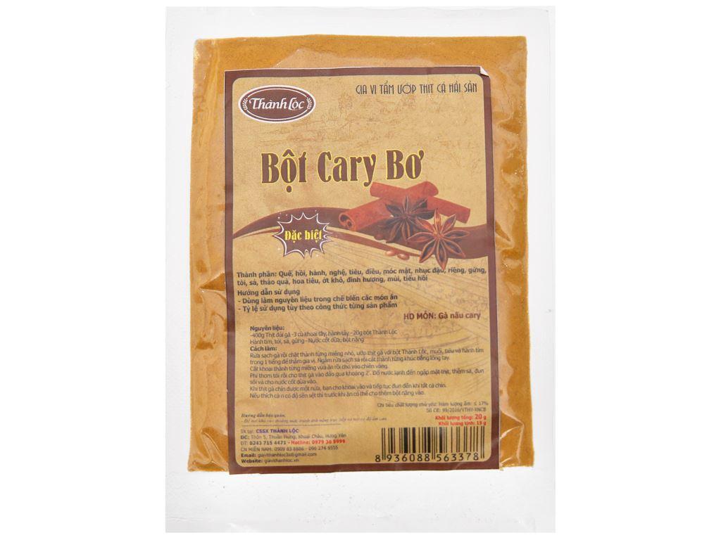 Bột cà ri bơ Thành Lộc gói 20g 1