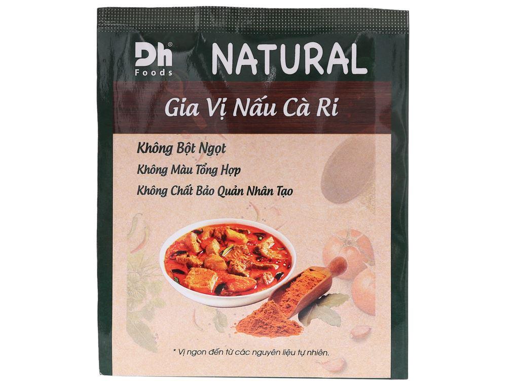 Gia vị nấu cà ri Dh Food Natural gói 10g 1