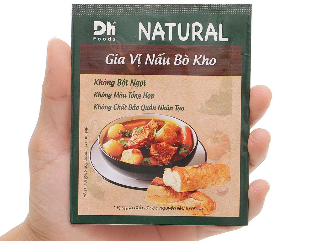 Gia vị nấu bò kho Dh Food Natural gói 10g 4