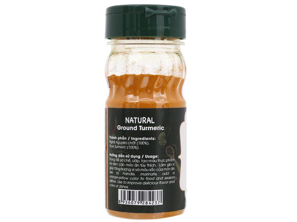Nghệ bột Dh Food Natural hũ 40g 2
