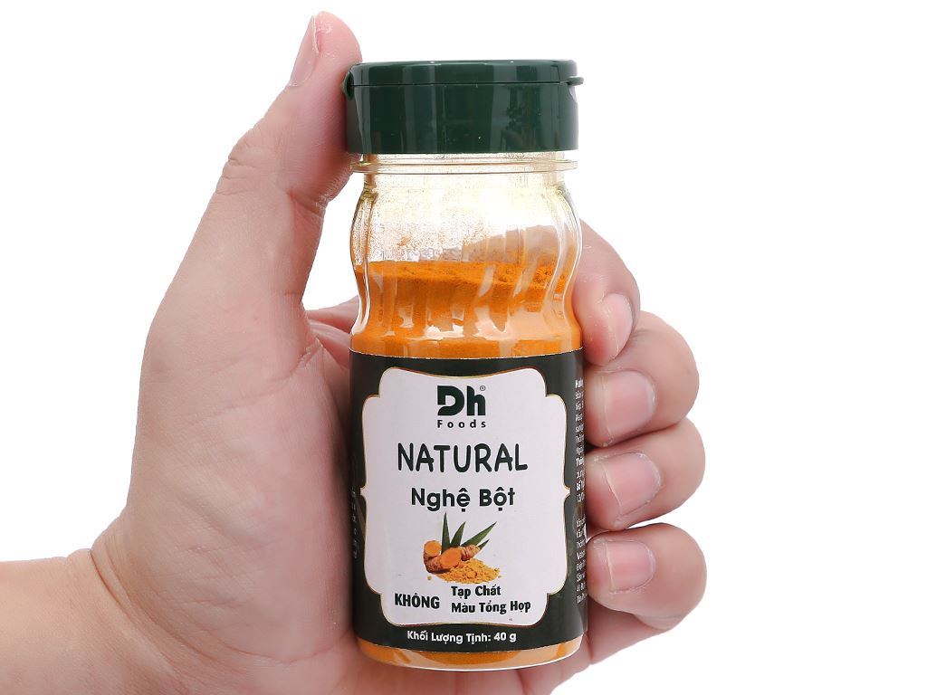 Nghệ bột Dh Food Natural hũ 40g 6