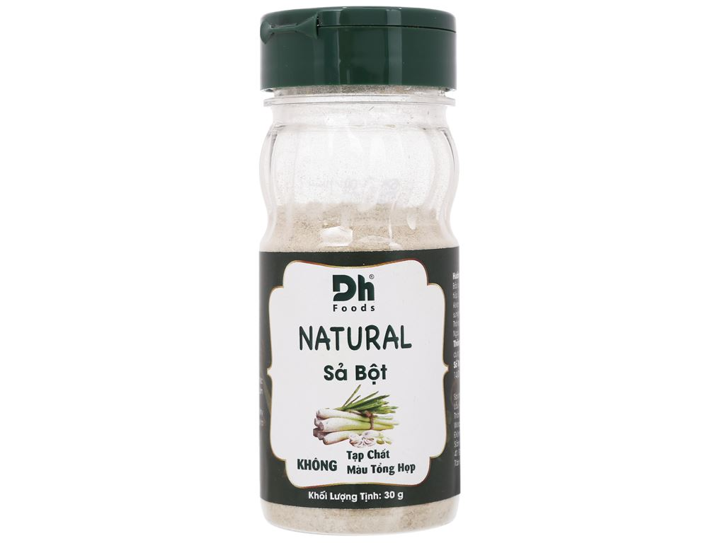 Sả bột Dh Food Natural hũ 30g 1