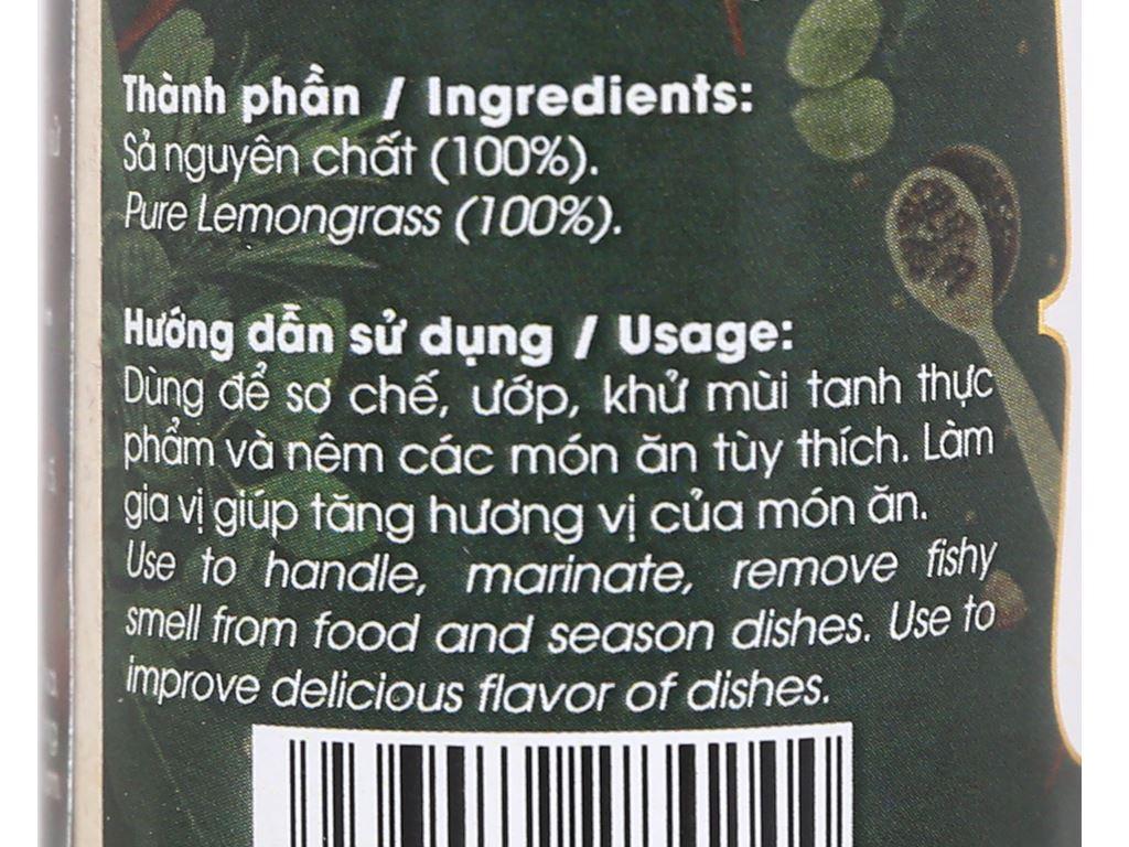 Sả bột Dh Food Natural hũ 30g 3