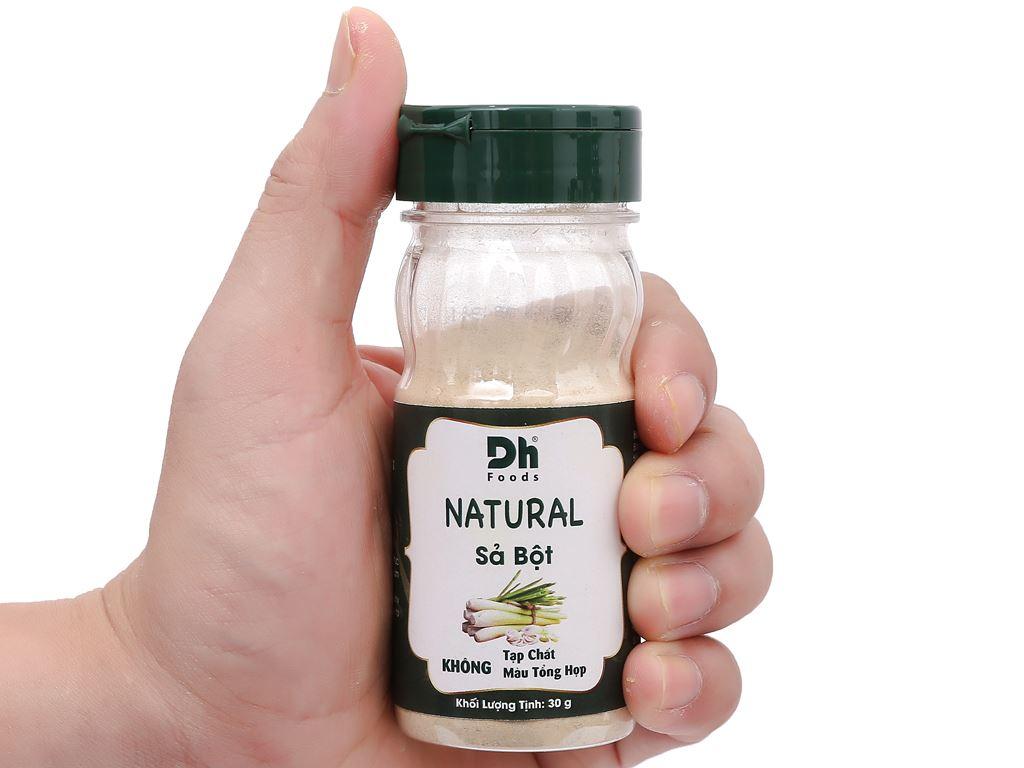 Sả bột Dh Food Natural hũ 30g 6