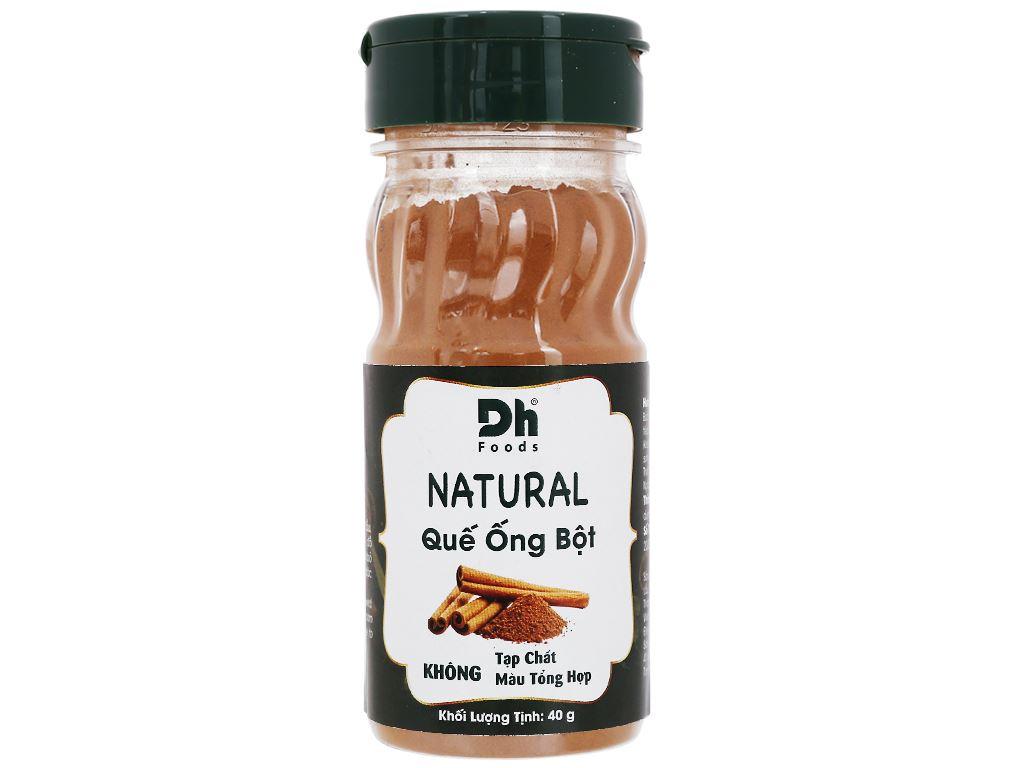 Bột quế ống Dh Food Natural hũ 40g 1