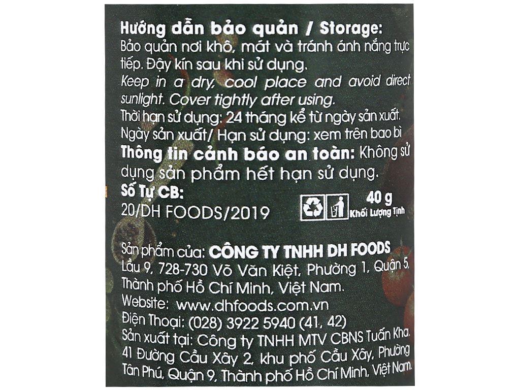 Bột quế ống Dh Food Natural hũ 40g 4