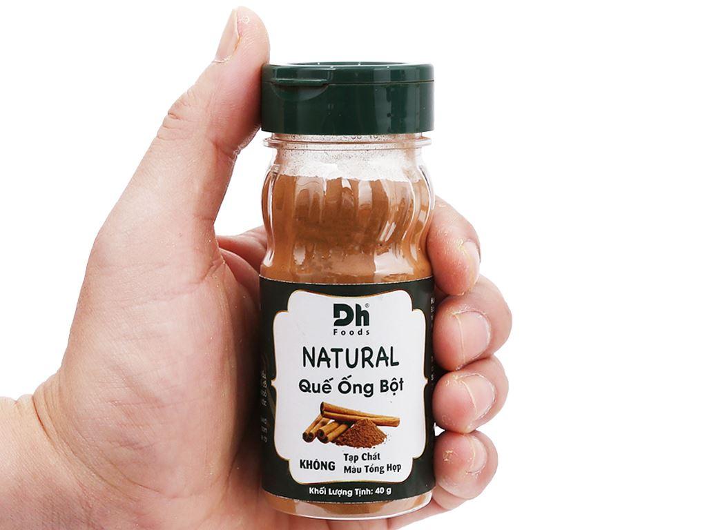 Bột quế ống Dh Food Natural hũ 40g 6