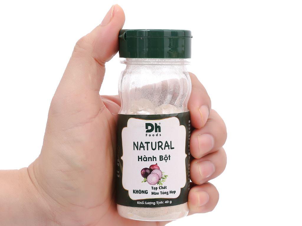 Hành bột Dh Food Natural hũ 40g 6
