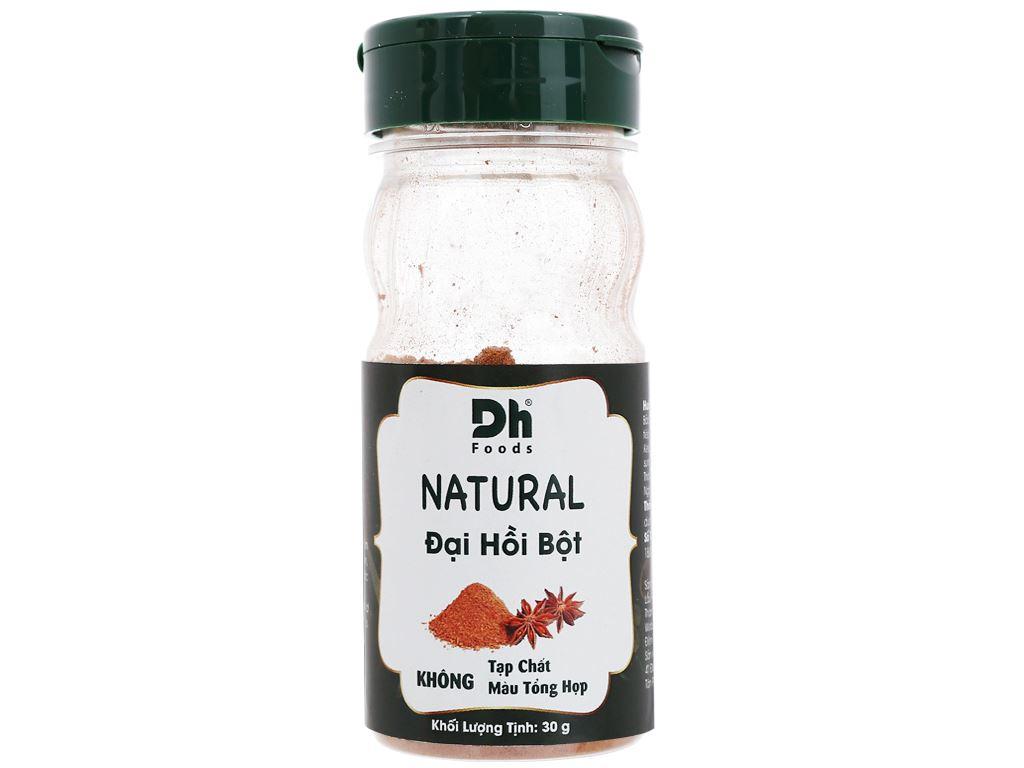 Đại hồi bột Dh Food Natural hũ 30g 1