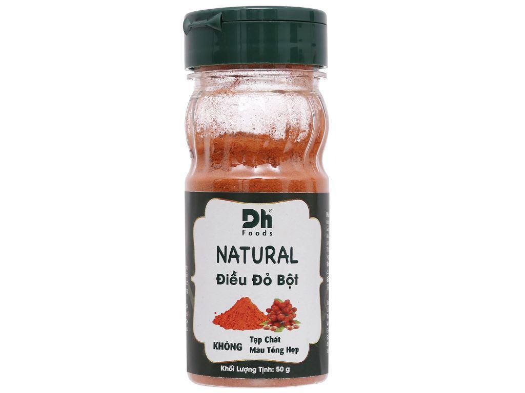Điều đỏ bột Dh Food Natural hũ 50g 2