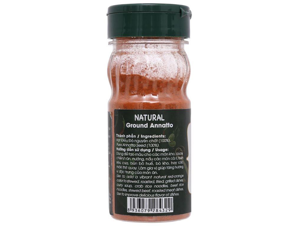 Điều đỏ bột Dh Food Natural hũ 50g 3