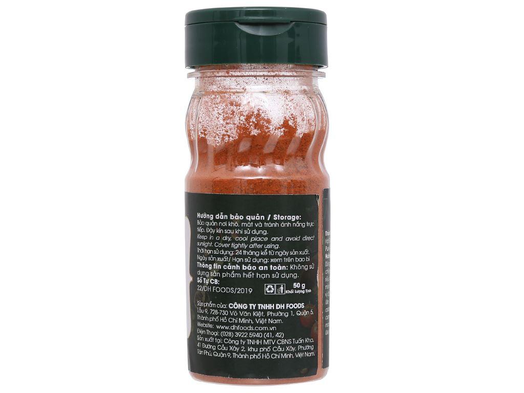 Điều đỏ bột Dh Food Natural hũ 50g 4