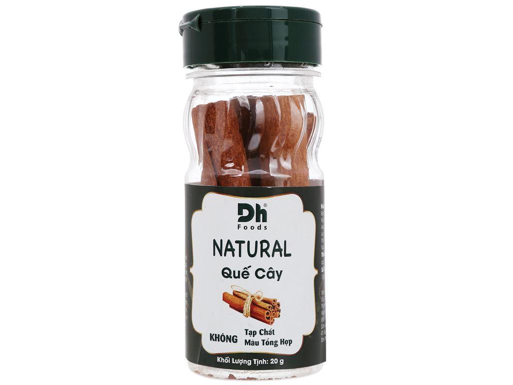 Quế cây Dh Food Natural hũ 20g 1