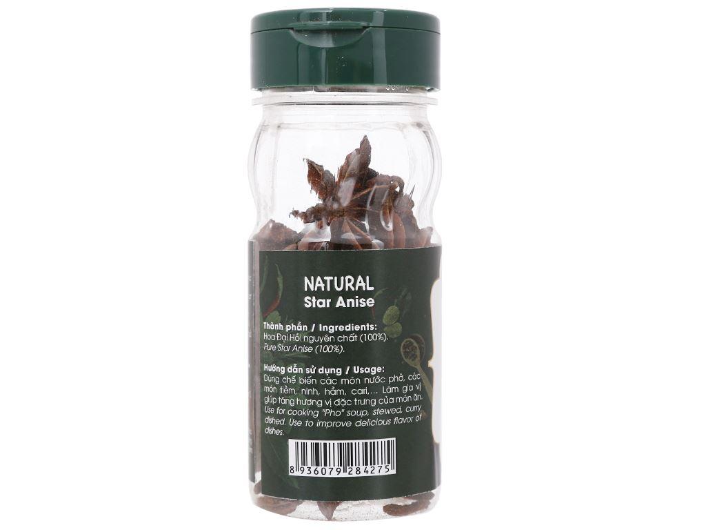 Hoa hồi Dh Food Natural hũ 15g 2