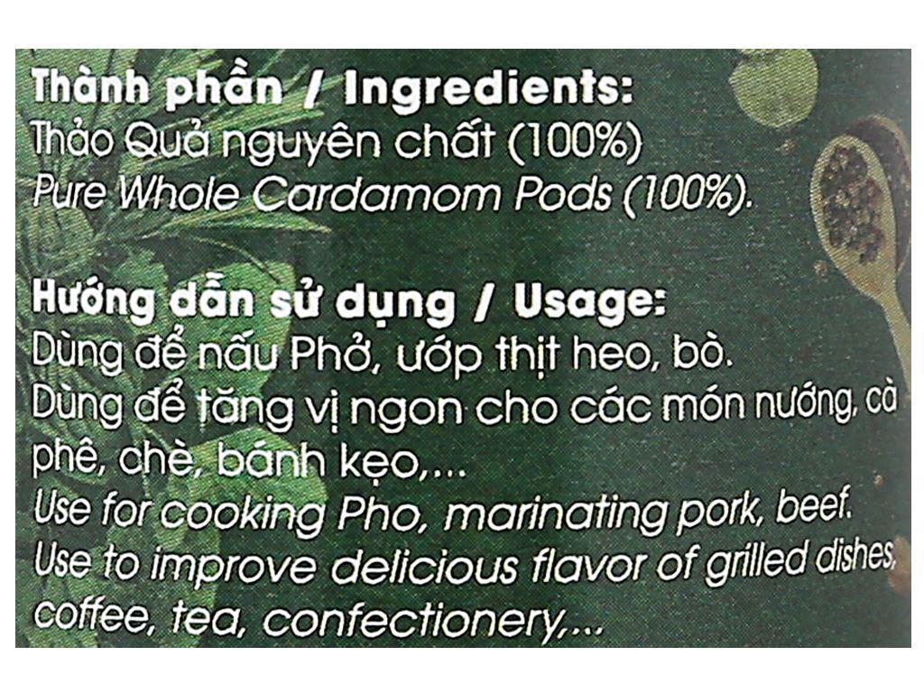 Thảo quả Dh Food Natural hũ 20g 4