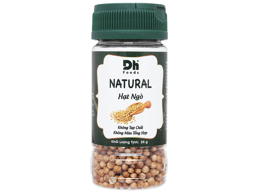 Hạt ngò Dh Food Natural hũ 25g 1