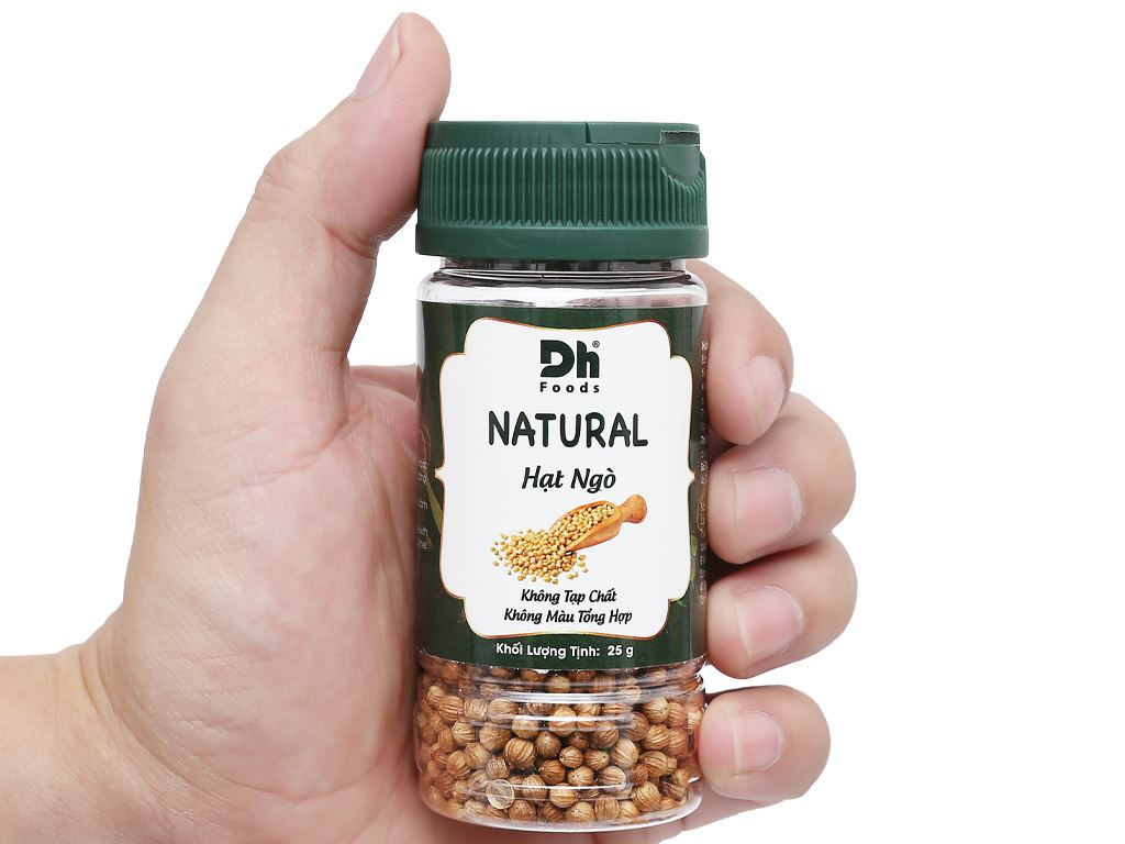 Hạt ngò Dh Food Natural hũ 25g 6