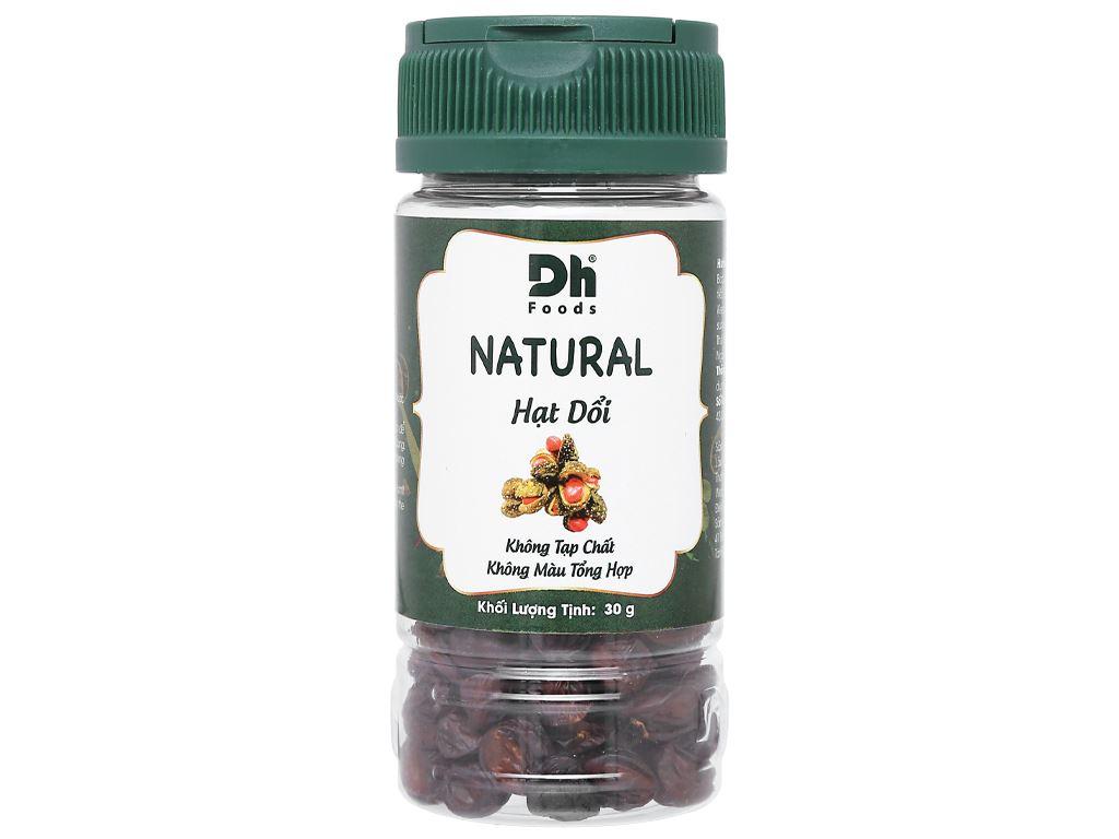 Hạt dổi Dh Food Natural hũ 30g 1