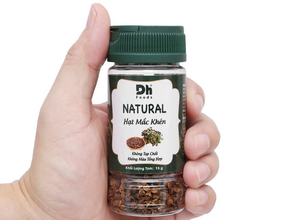 Hạt mắc khén Dh Food Natural hũ 15g 6