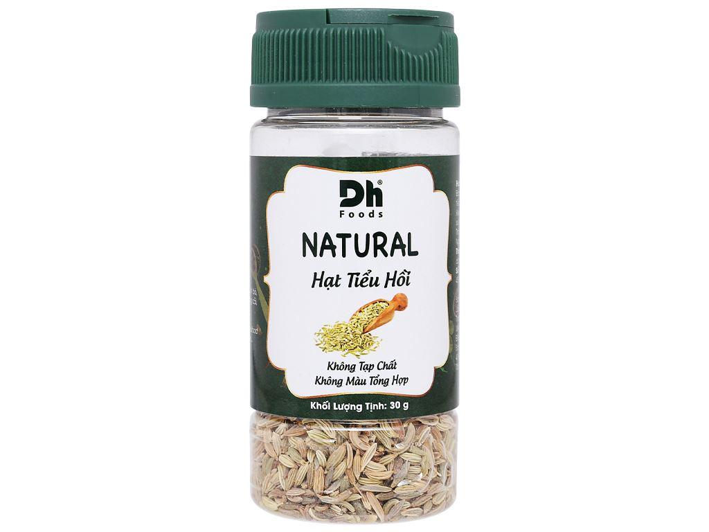 Hạt tiểu hồi Dh Food Natural hũ 30g 1