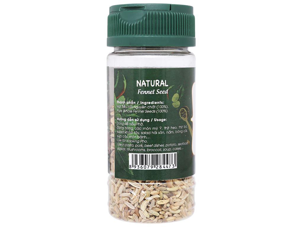 Hạt tiểu hồi Dh Food Natural hũ 30g 3