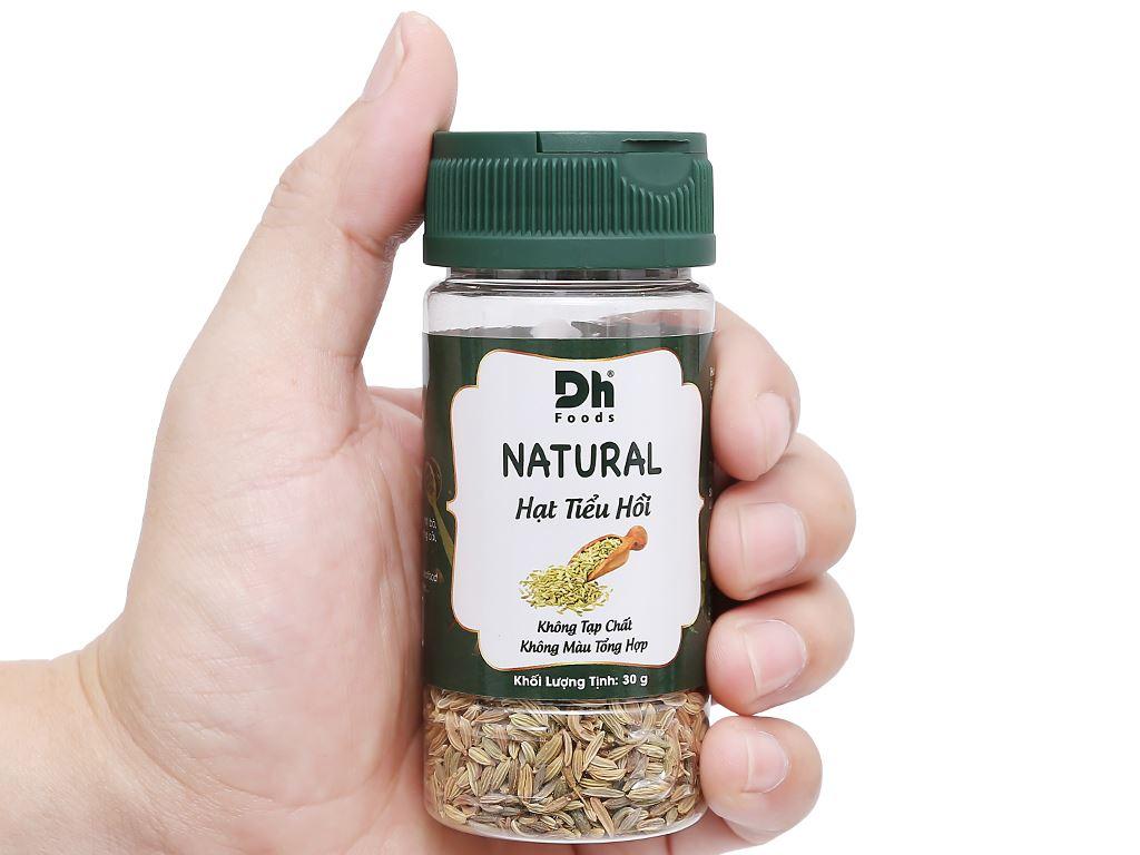 Hạt tiểu hồi Dh Food Natural hũ 30g 6