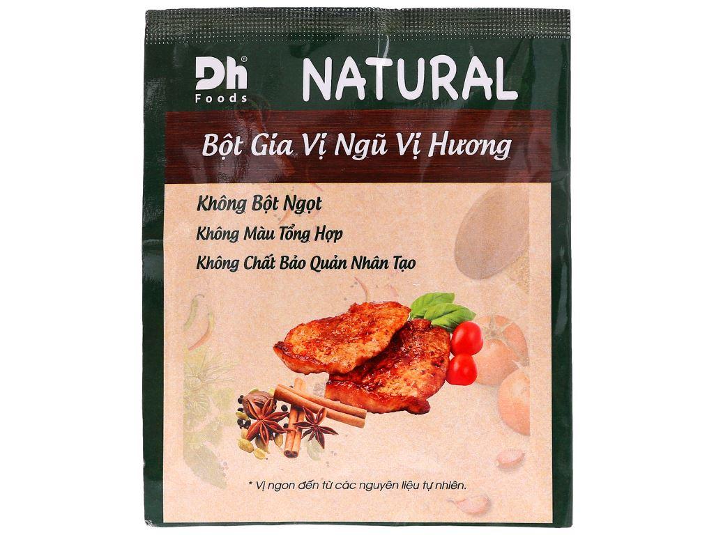 Bột gia vị ngũ vị hương Dh Food Natural gói 10g 1