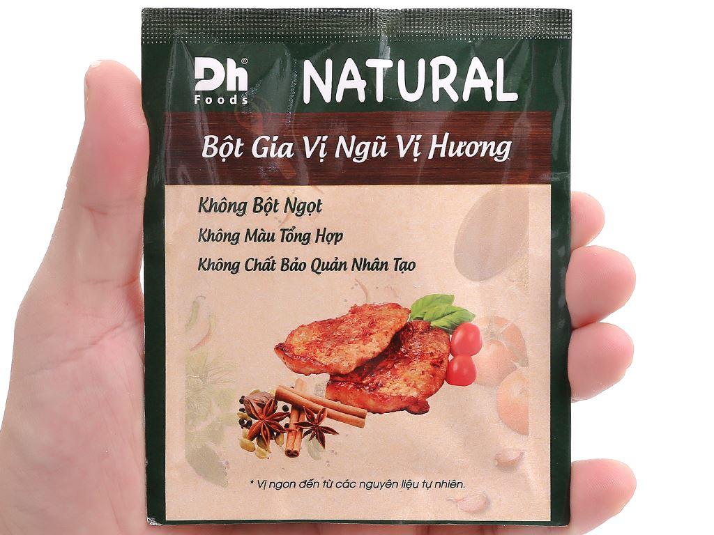 Bột gia vị ngũ vị hương Dh Food Natural gói 10g 3