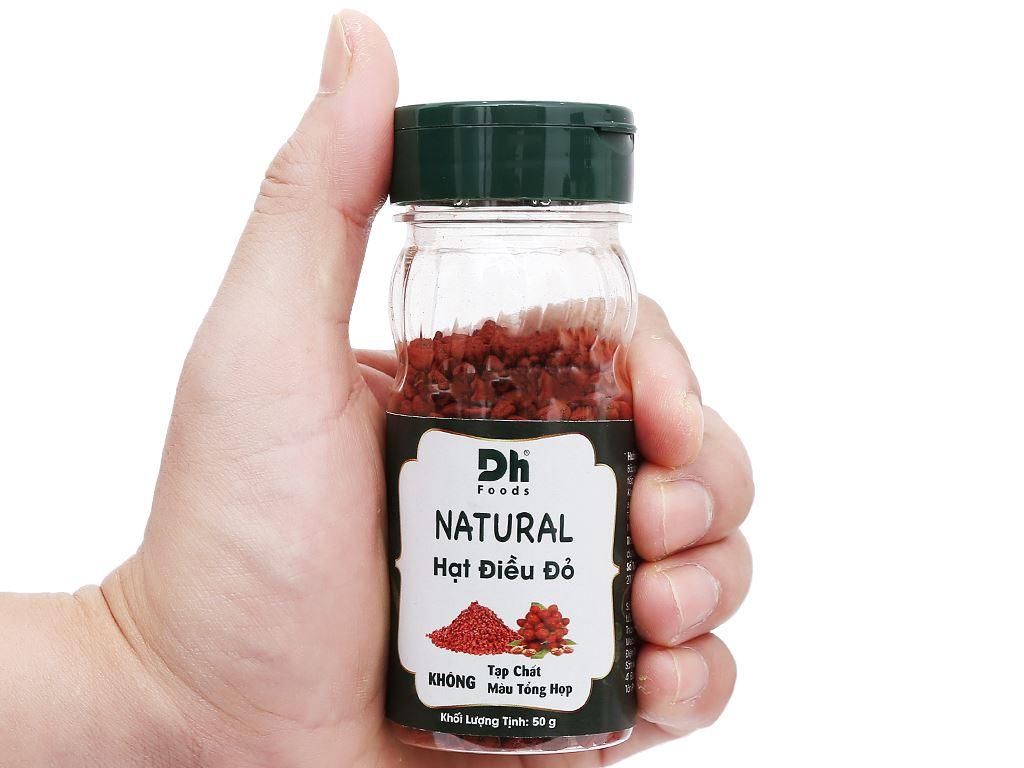 Hạt điều đỏ Natural Dh Food hũ 50g 6