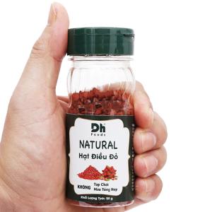 Hạt điều đỏ Natural Dh Food hũ 50g