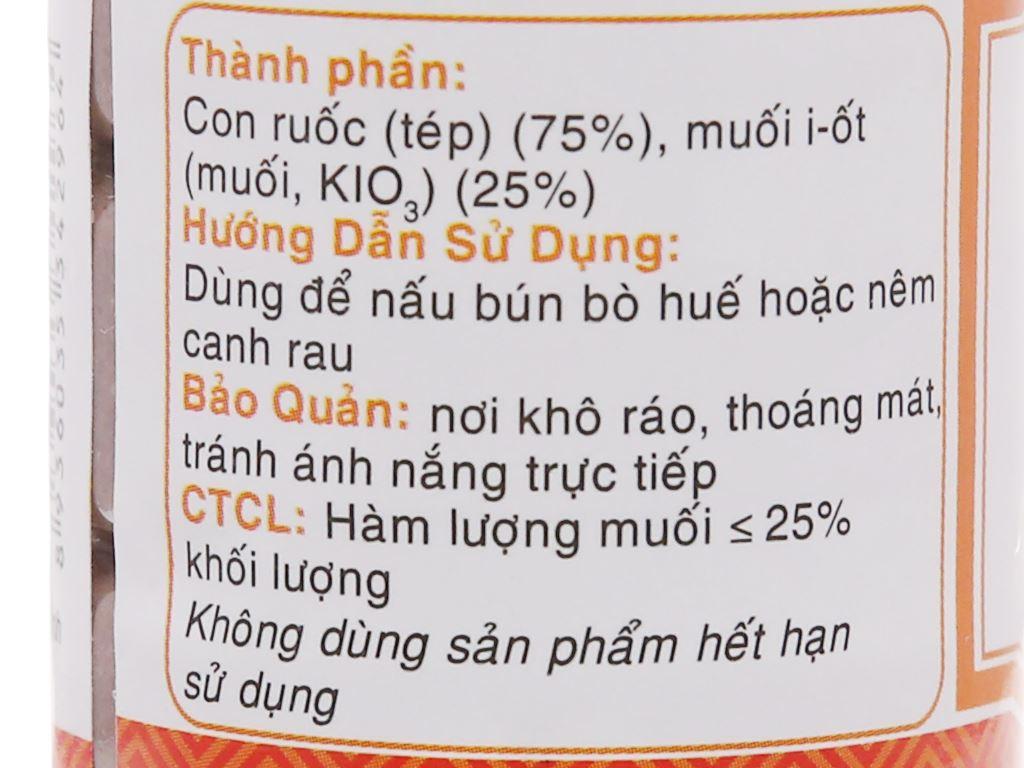 Mắm ruốc Huế Sông Hương chai 100ml 3
