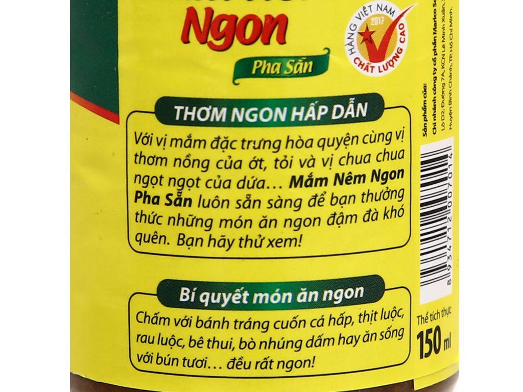 Mắm nêm pha sẵn Thuận Phát chai 150ml 4