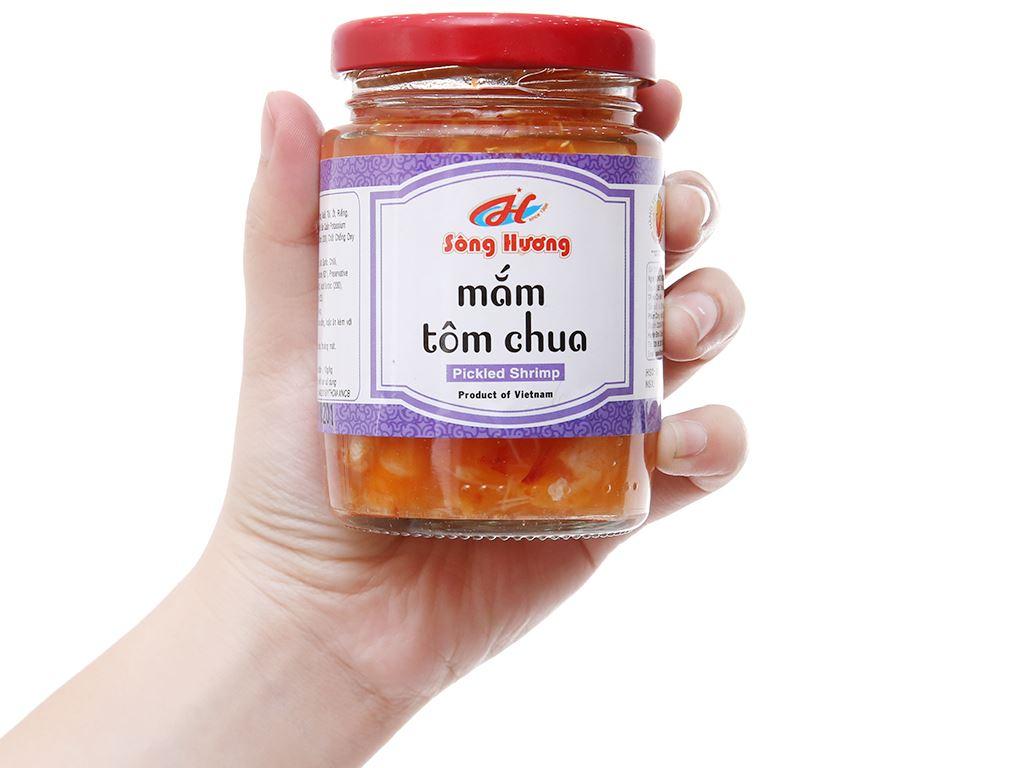 Mắm tôm chua Sông Hương hũ 200g 4