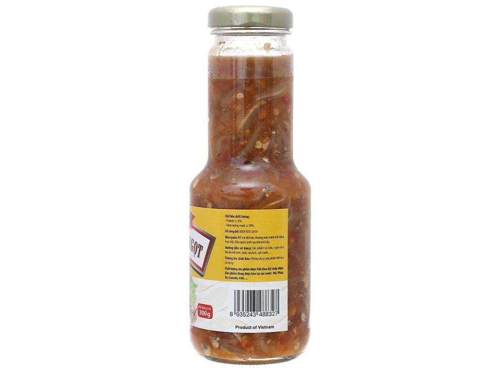 Cá cơm chua ngọt Vasifood chai 300g 2