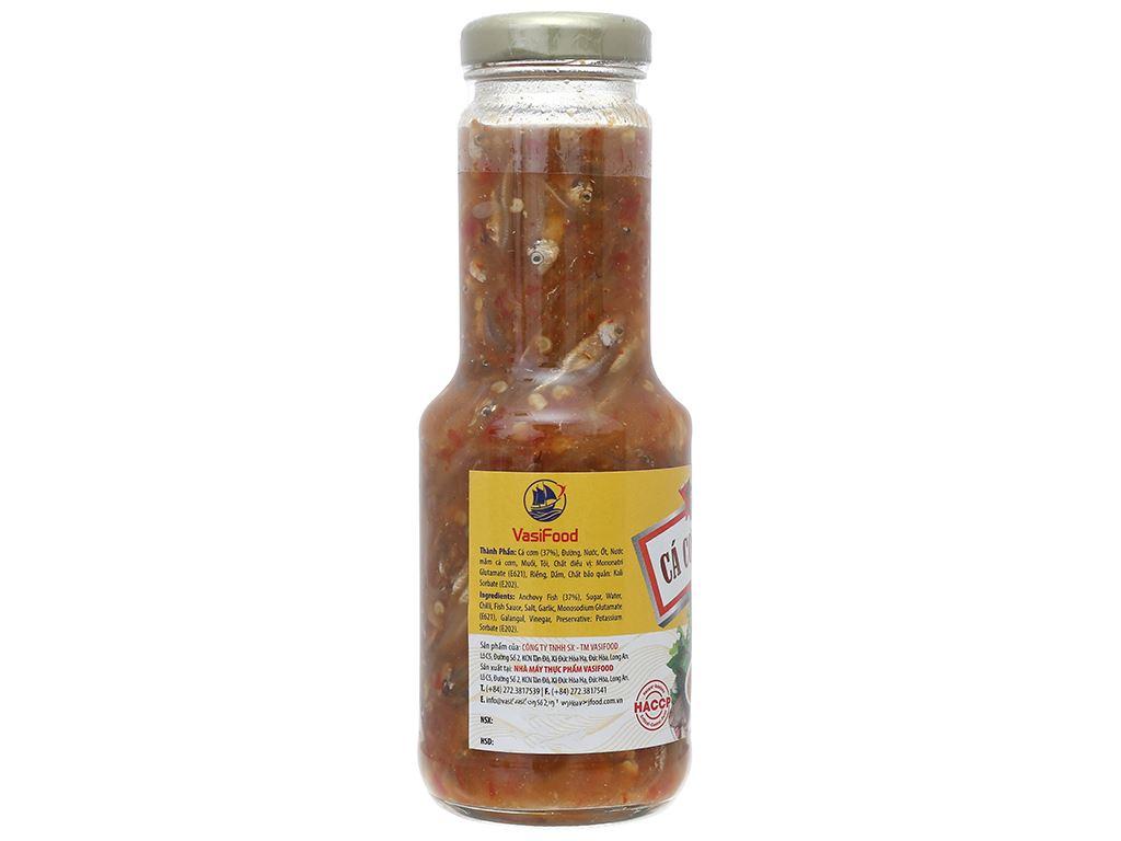 Cá cơm chua ngọt Vasifood chai 300g 4
