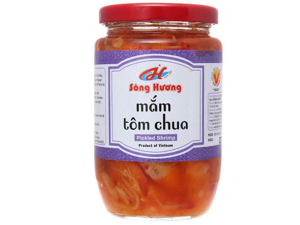 Mắm tôm chua Sông Hương hũ 430g 2