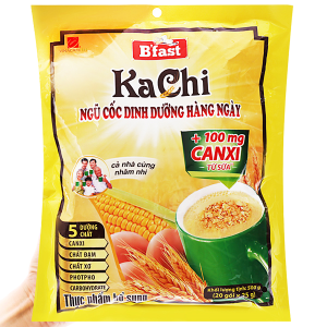 Ngũ cốc dinh dưỡng VinaCafé B'fast Kachi bịch 500g