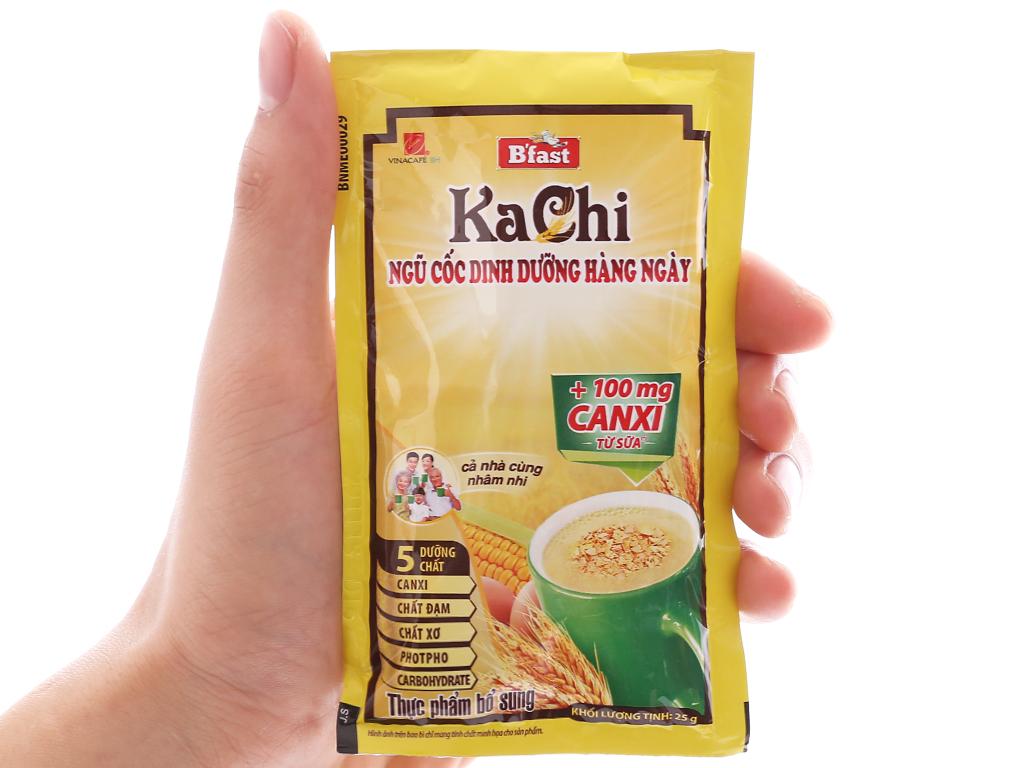 Ngũ cốc dinh dưỡng VinaCafé B'fast Kachi bịch 500g 4