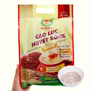 Gạo lức huyết rồng Việt Đài bịch 450g