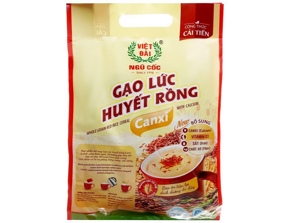 Gạo lức huyết rồng Việt Đài bịch 450g 9