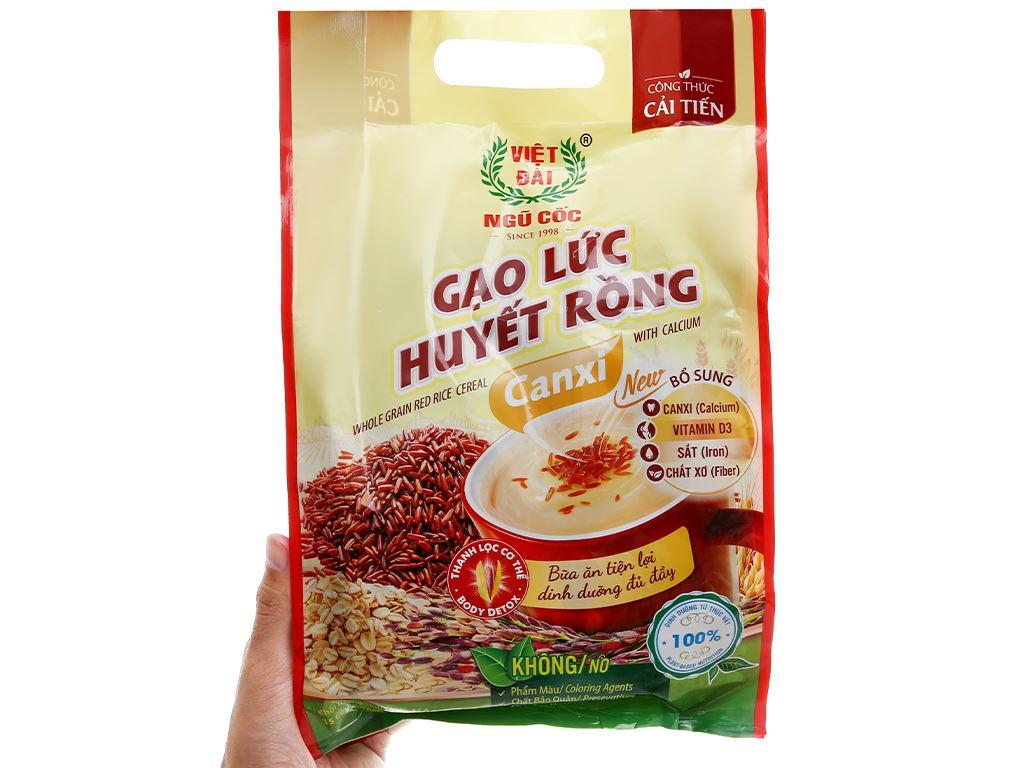 Gạo lức huyết rồng Việt Đài bịch 450g 11