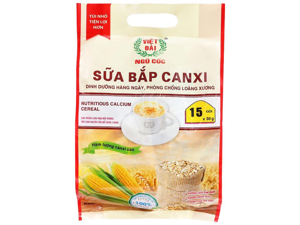 Sữa bắp canxi Việt Đài bịch 450g 1