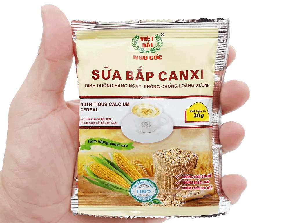 Sữa bắp canxi Việt Đài bịch 450g 5