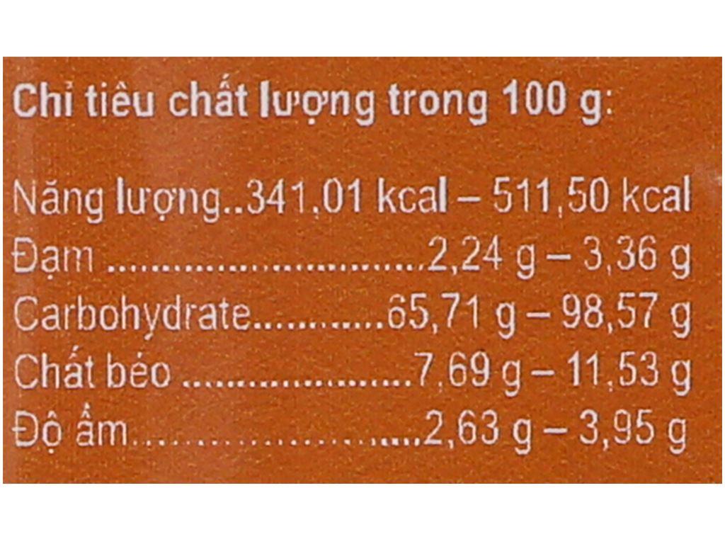 Bột ca cao Vietnamcacao 5 in 1 hộp 250g 3