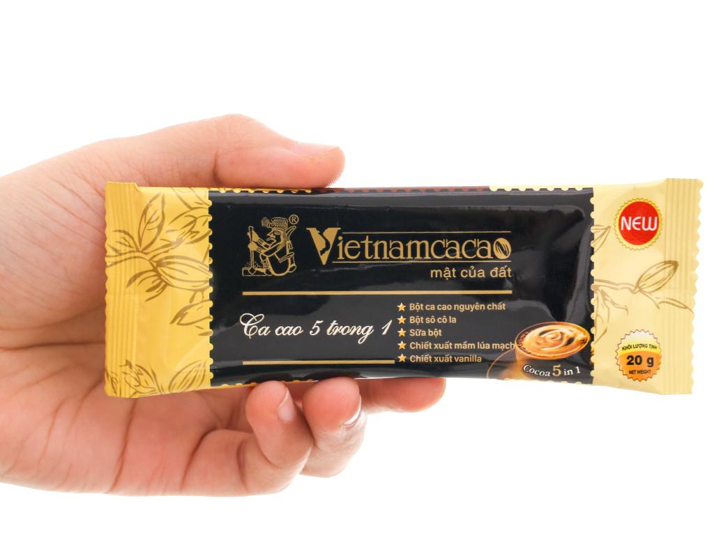 Bột ca cao Vietnamcacao 5 in 1 hộp 250g 5