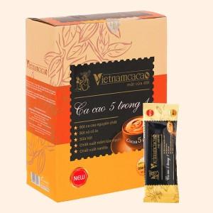 Bột ca cao Vietnamcacao 5 in 1 hộp 250g