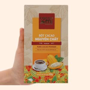 Bột ca cao nguyên chất CacaoMi Premium hộp 127g